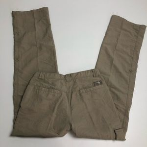 The North Face Mens Beige Hiking Pants Size 30